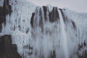 Waterfall in Winter #05