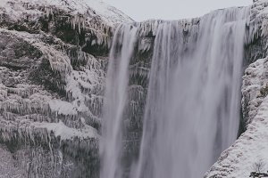 Waterfall in Winter #07
