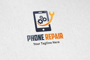 Phone Repair - Logo Template