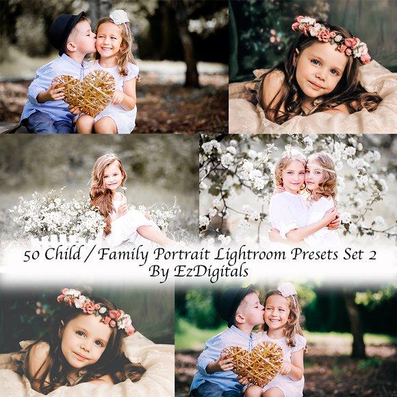50 Child Family Lightroom Presets