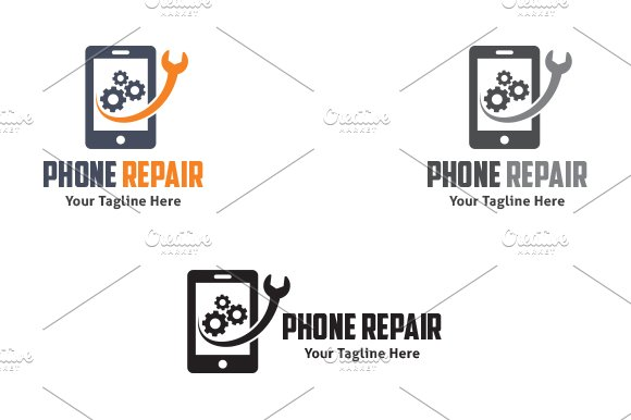 Phone Repair - Logo Template in Logo Templates - product preview 1