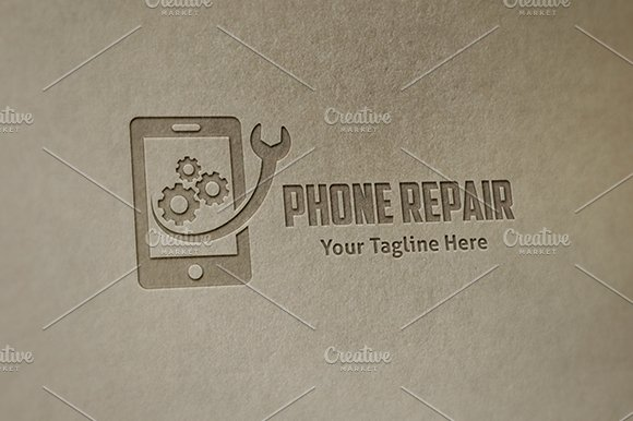 Phone Repair - Logo Template in Logo Templates - product preview 2