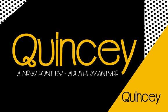 Quincey Regular