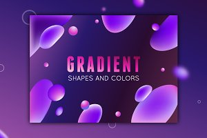Gradient - shapes and colors
