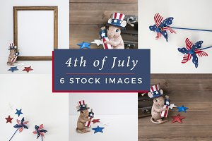 4th of July Stock Images Bundle