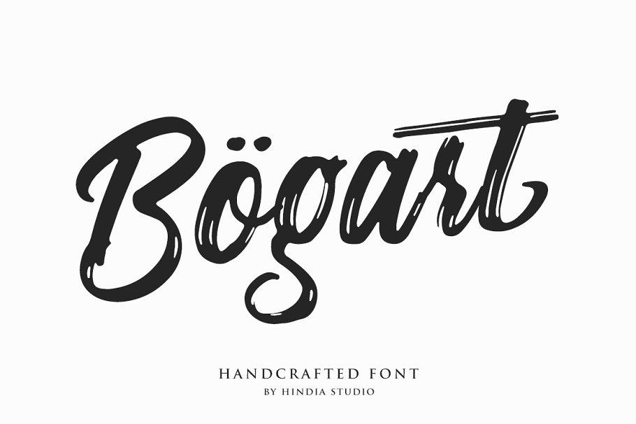 Bogart Script ~ Script Fonts ~ Creative Market