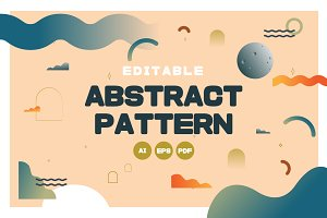Fun & Elegant Abstract Pattern