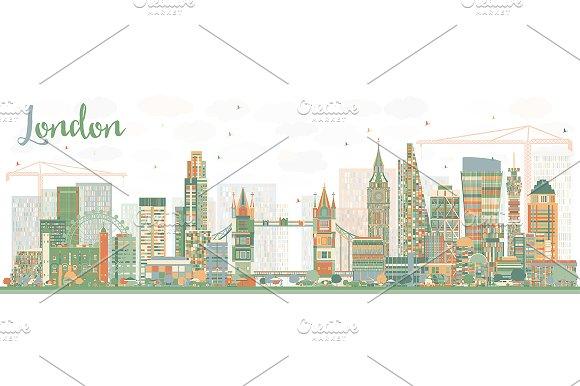 Abstract London Skyline
