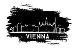 Vienna Skyline Silhouette.