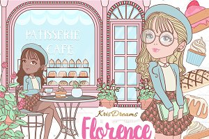 Florence Clipart Set