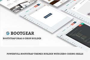 Bootstrap Drag & Drop Themes Builder