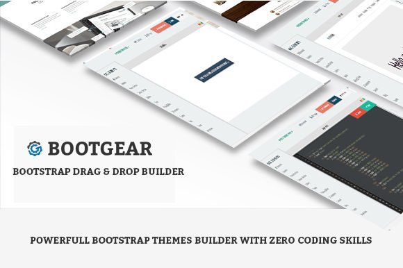 Bootstrap Drag Drop Themes Builder