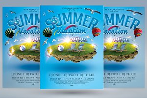 Summer Vacation Flyer