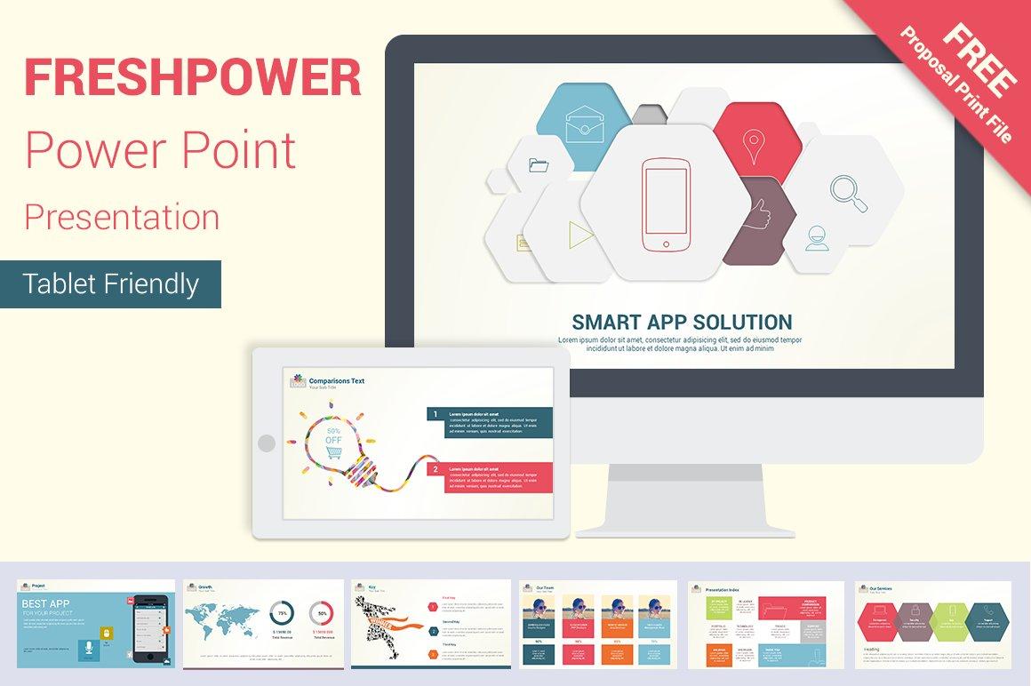 freshpower power point presentation presentation templates