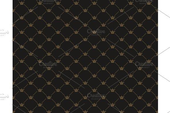 Black Royal Background