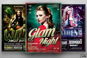 Ladies Night Flyer Bundle V2