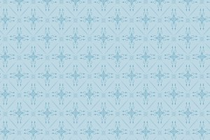 damask wallpaper, blue