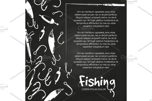 Poster Fishing Banner