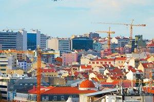 Plane to Lisbon, Portugal