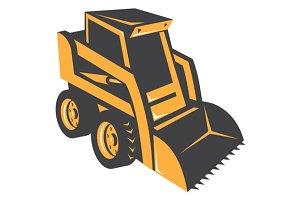 skid steer digger truck