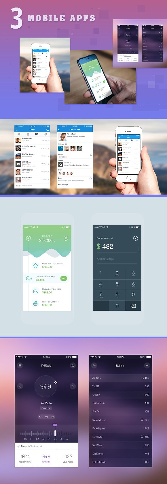 16 Templates in App Templates - product preview 3