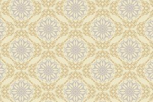 damask wallpaper, retro