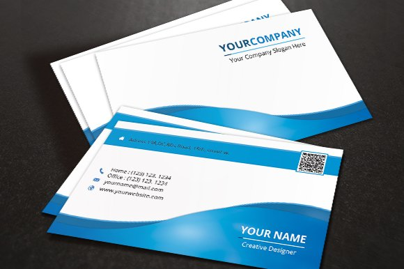 Corporate Business Card v.01 - Business Cards