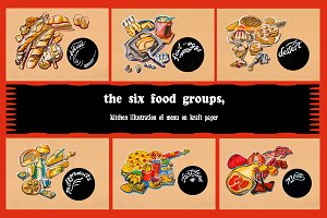 the Six food groups