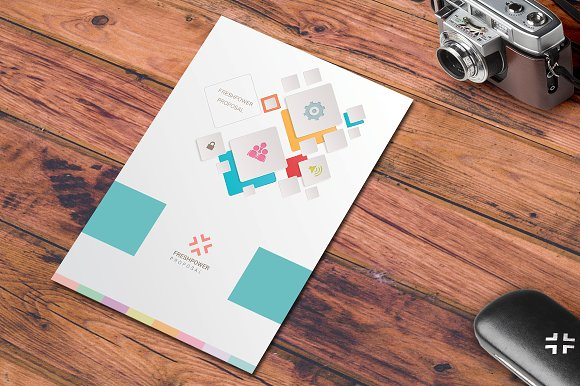 Freshpower Mobile App Proposal Stationery Templates Creative Market