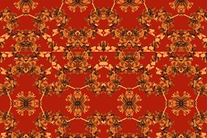 Crafted Folk Seamless Pattern