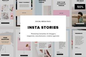 INSTA STORIES - Social Media Pack