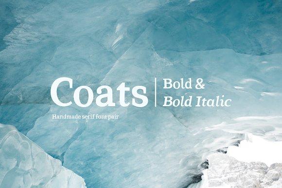 Coats Bold Coats Bold Italic