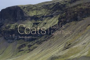 Coats Light & Coats Light Italic