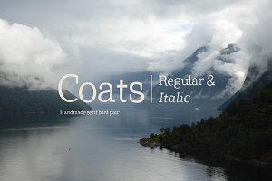 Coats Regular & Coats Italic
