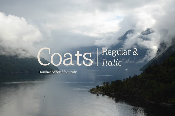 Coats Regular Coats Italic
