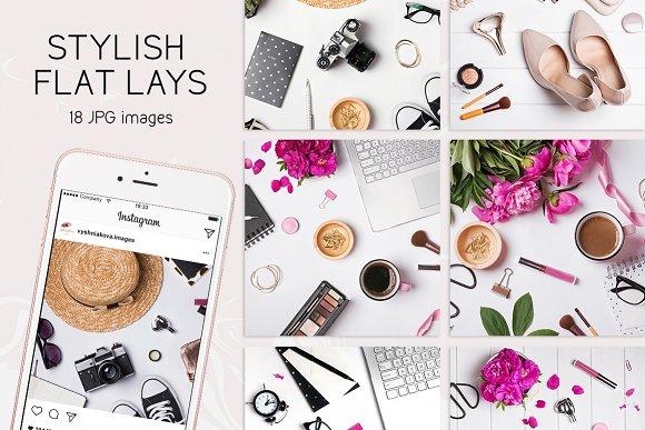 Stylish Flat Lays Set