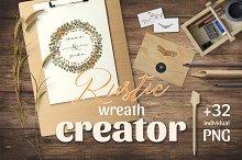 Rustic Wreath Creator