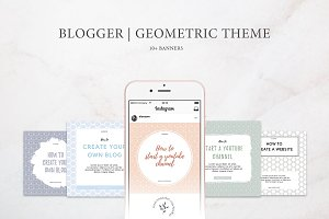 Blogger | Geometric Theme