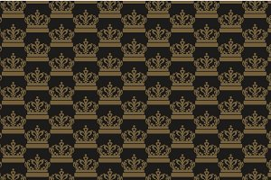 Damask Wallpaper Royal Style