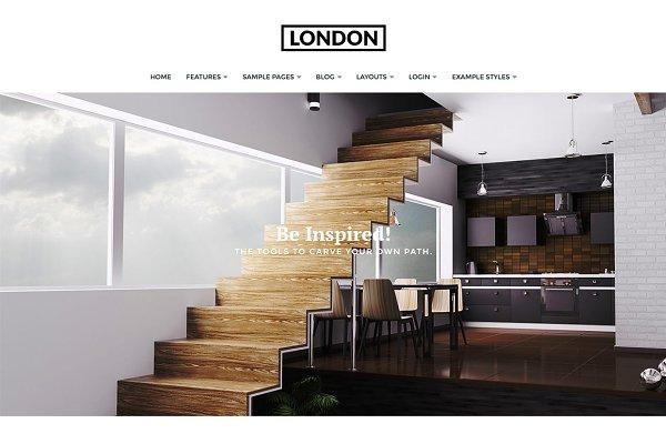 Joomla Themes: Joomla51 - J51 - London