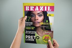 BRAZIL Magazine Cover
