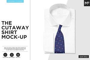The Cutaway Shirt Mock-up