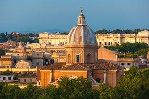 San Giovanni dei Fiorentini church in Rome, Italy