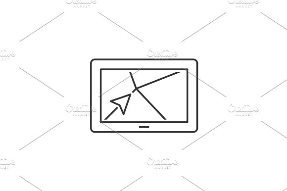 Navigator Outline Icon