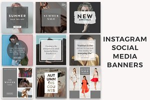 Instagram Social Media Banners