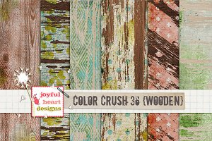 Color Crush 36 {wooden}