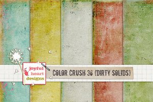 Color Crush 36 {dirty solids}