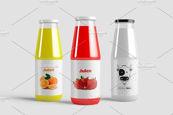 Juice Bottle Mock-Up