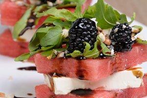 appetizer of watermelon