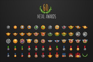 60 x Metal Awards